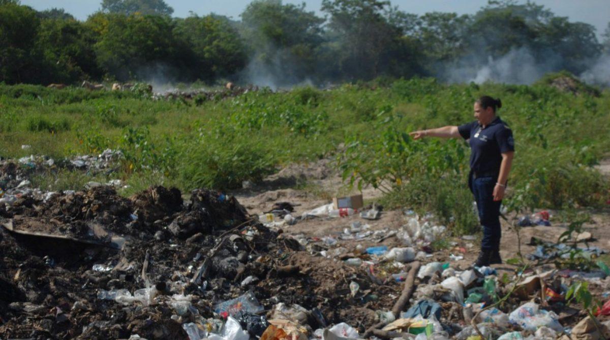 Chilecito:Macabro allazgo encuentran a un bebé sin vida en un basural