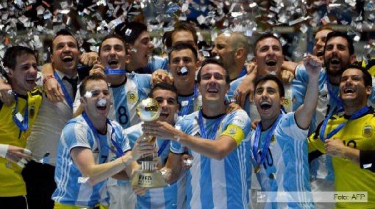 Argentina se consagró campeón del mundo en Futsal
