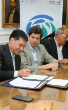 La provincia firmó importante convenio con la subsecretaría de recursos hidrícos de la nación